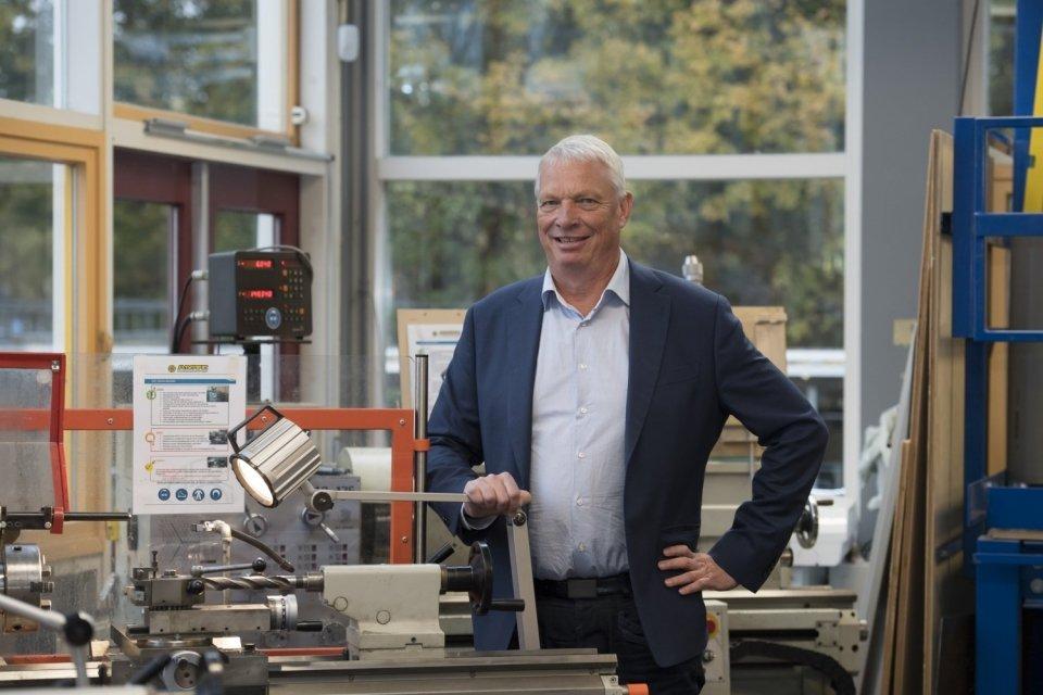 Henk Ligthart, rector VeenLanden College